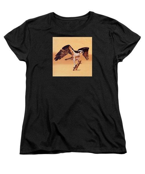 Osprey Women's T-Shirt (Standard Cut) by Ron Haist