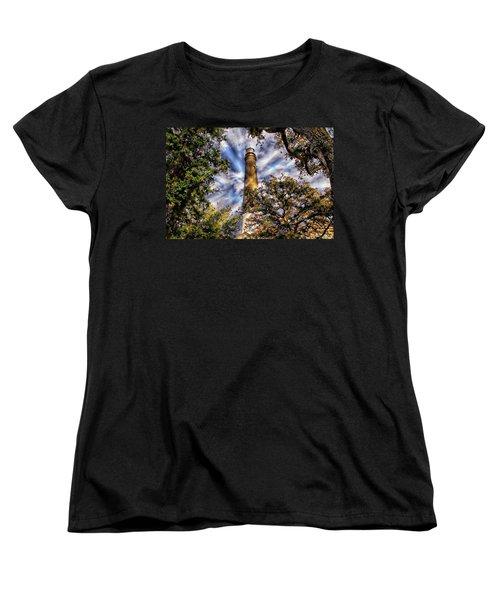 Pensacola Lighthouse Women's T-Shirt (Standard Cut) by Anthony Dezenzio