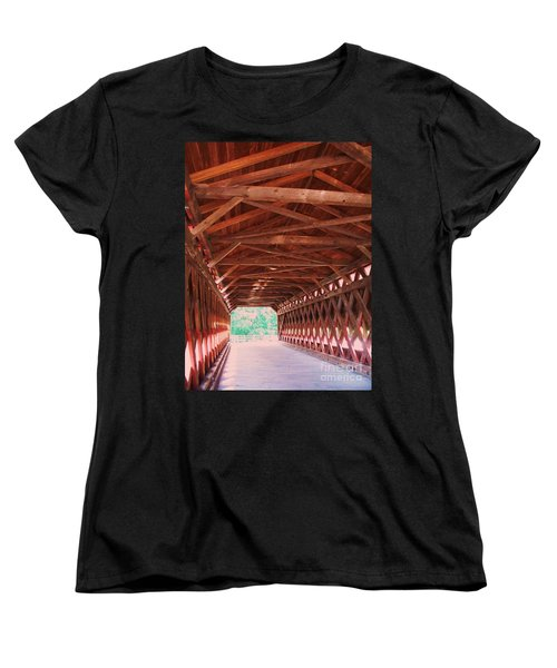Sachs Bridge Women's T-Shirt (Standard Cut) by Eric  Schiabor