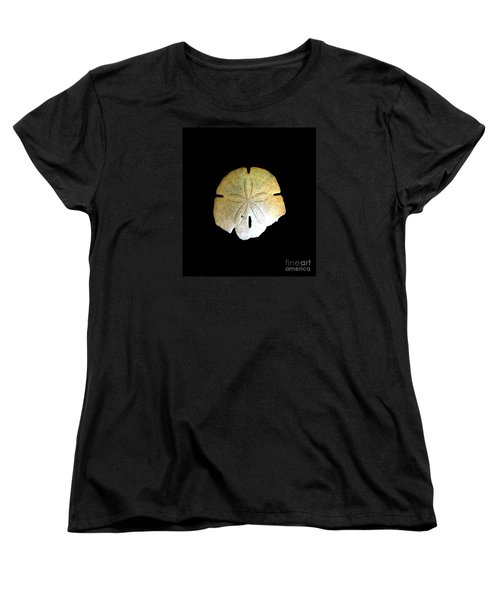 Women's T-Shirt (Standard Cut) featuring the photograph Sand Dollar by Fred Wilson