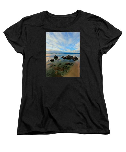Serenity  Women's T-Shirt (Standard Cut) by Sean Sarsfield