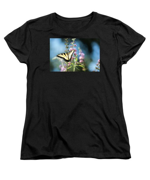 Women's T-Shirt (Standard Cut) featuring the photograph Spread Your Wings by Judy Wolinsky