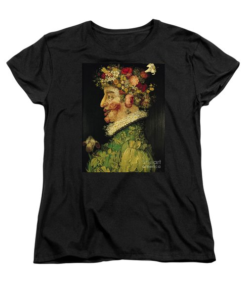 Spring Women's T-Shirt (Standard Cut) by Giuseppe Arcimboldo