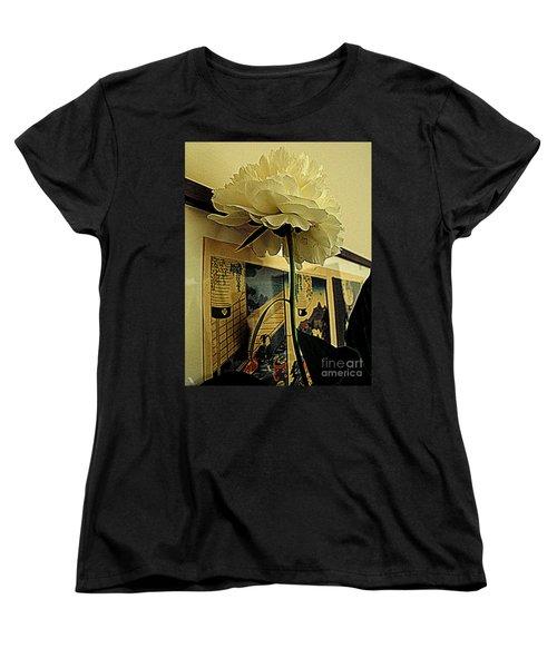Standing Tall Women's T-Shirt (Standard Cut) by Nancy Kane Chapman