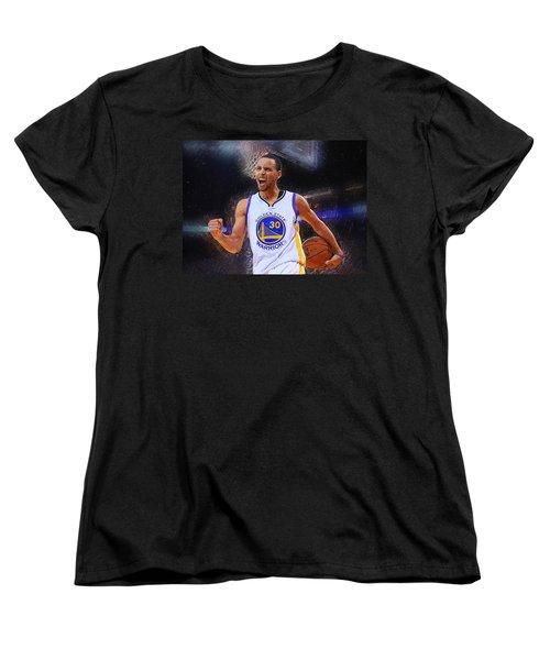 Stephen Curry Women's T-Shirt (Standard Cut)