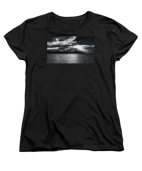 Women's T-Shirt (Standard Cut) featuring the photograph Sunset by Hayato Matsumoto