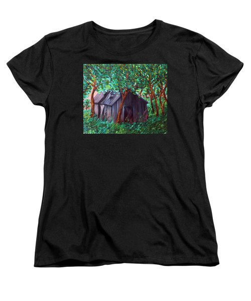 The Barn Women's T-Shirt (Standard Cut) by Felix Concepcion
