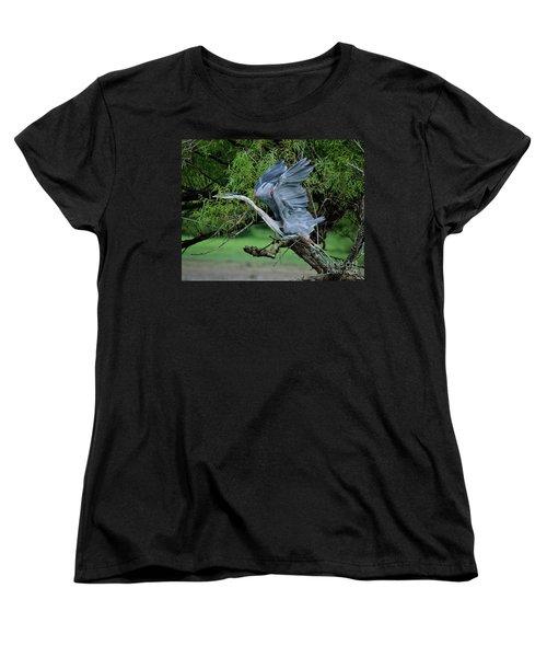 Women's T-Shirt (Standard Cut) featuring the photograph The Launch by Douglas Stucky