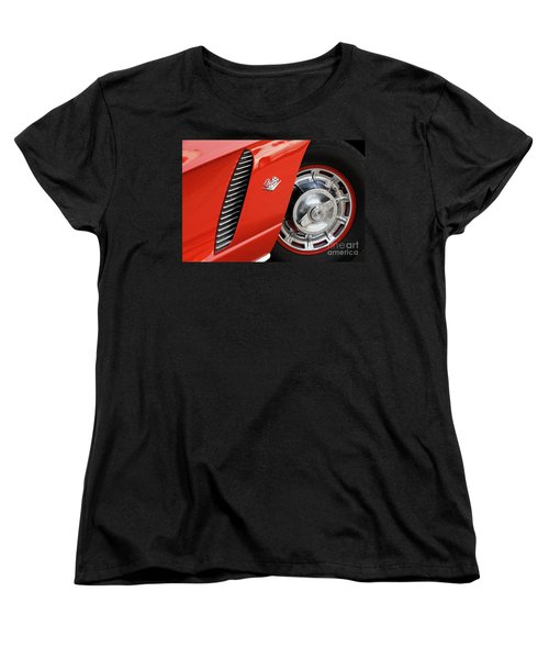 Women's T-Shirt (Standard Cut) featuring the photograph Where Were You In '62 by Dennis Hedberg