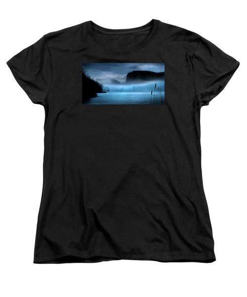 Women's T-Shirt (Standard Cut) featuring the photograph While You Were Sleeping by John Poon