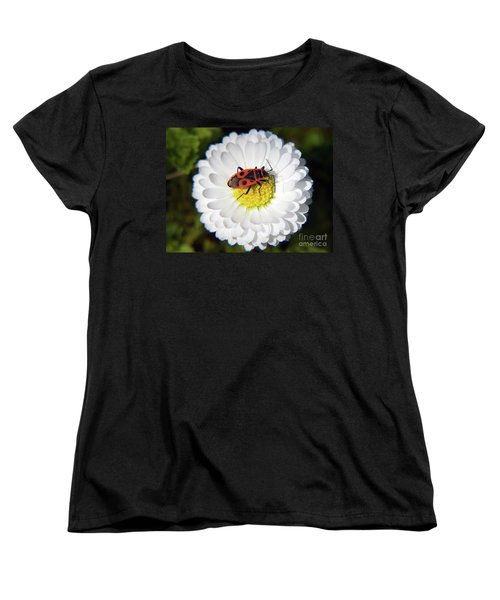 Women's T-Shirt (Standard Cut) featuring the photograph White Flower by Elvira Ladocki
