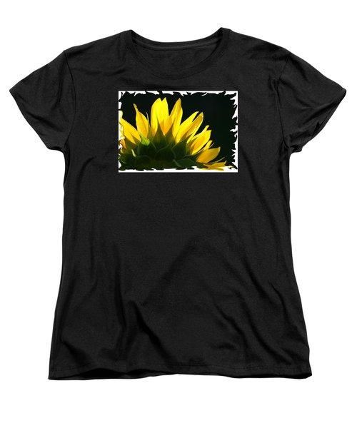 Wild Sunflower Women's T-Shirt (Standard Cut) by Shari Jardina