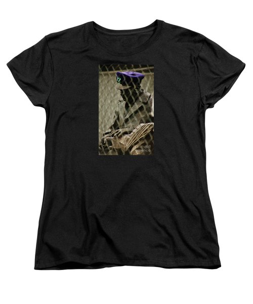 Women's T-Shirt (Standard Cut) featuring the photograph 12th Man by Craig Wood