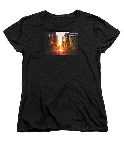 New York City Women's T-Shirt (Standard Cut) by Vivienne Gucwa