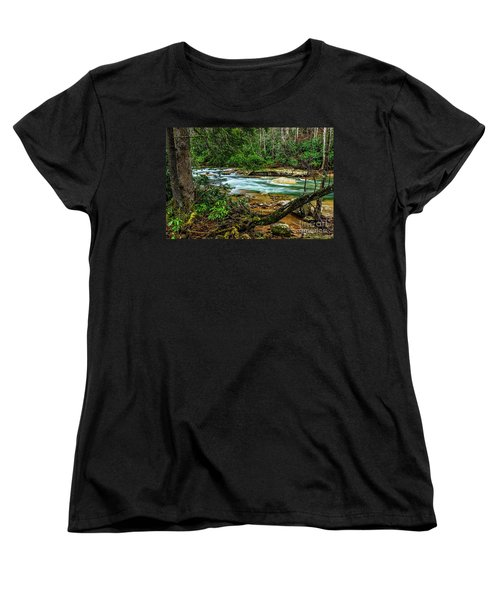Women's T-Shirt (Standard Cut) featuring the photograph Back Fork Of Elk River by Thomas R Fletcher