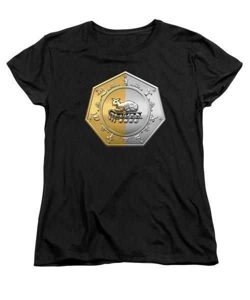 17th Degree Mason - Knight Of The East And West Masonic Jewel  Women's T-Shirt (Standard Cut) by Serge Averbukh