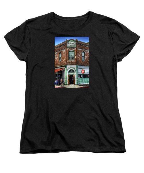 1898 Hotel Connor - Jerome Arizona Women's T-Shirt (Standard Cut) by Saija  Lehtonen
