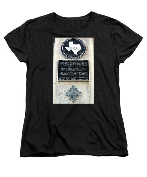 Women's T-Shirt (Standard Cut) featuring the photograph 1900 Storm Galveston by Wilhelm Hufnagl