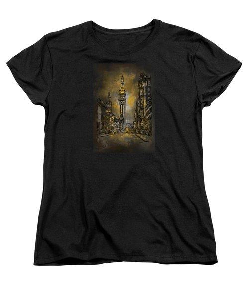 1910y Madison Avenue Ny. Women's T-Shirt (Standard Cut) by Andrzej Szczerski