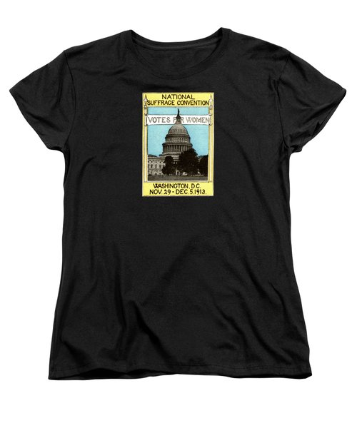 1913 Votes For Women Women's T-Shirt (Standard Cut) by Historic Image