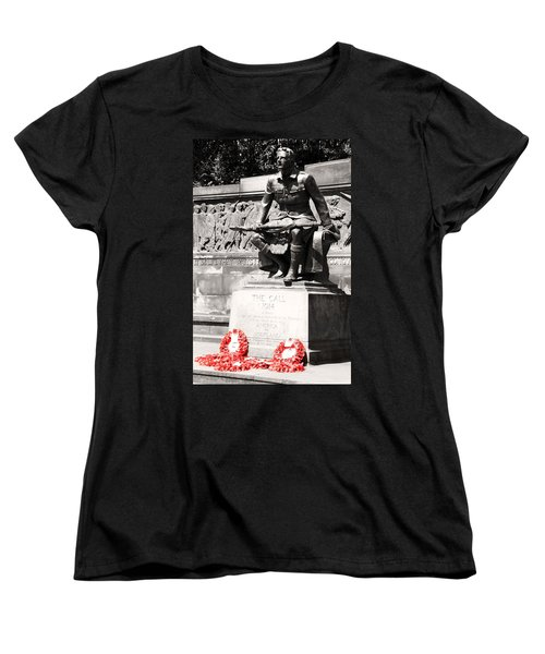 1914 The Call Women's T-Shirt (Standard Cut) by Martina Fagan