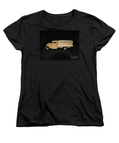 1929 Stake Bed Truck Women's T-Shirt (Standard Cut) by Marilyn Carlyle Greiner