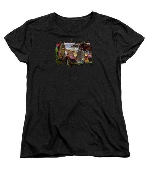 1932 Packard 900 Women's T-Shirt (Standard Cut) by Thom Zehrfeld