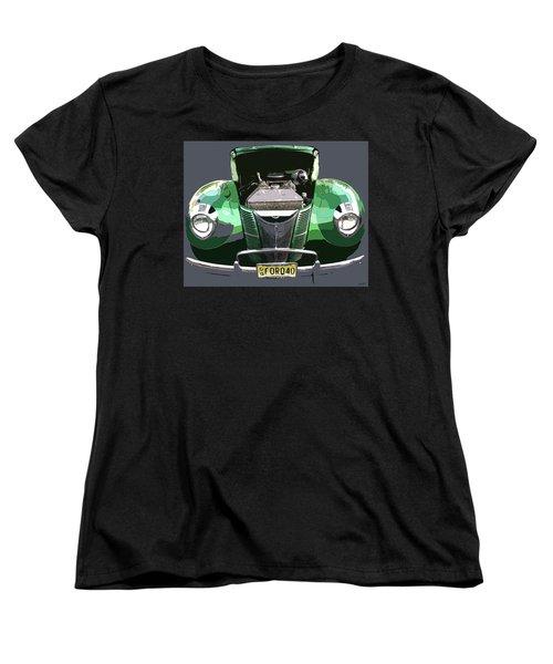 1940 Ford Women's T-Shirt (Standard Cut) by JoAnn Lense