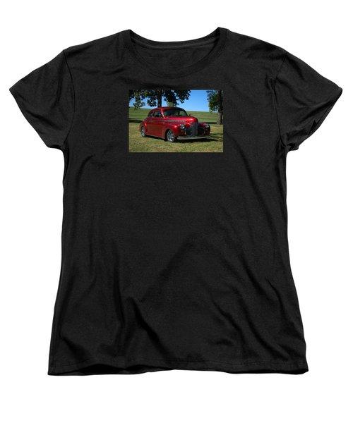 1941 Chevrolet Custom Street Rod Women's T-Shirt (Standard Cut) by Tim McCullough