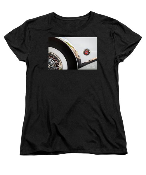 Women's T-Shirt (Standard Cut) featuring the photograph 1953 Buick Abstract 2 by Dennis Hedberg