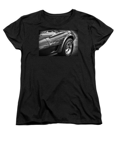 1973 Chevrolet Corvette Stingray Women's T-Shirt (Standard Cut) by Gordon Dean II