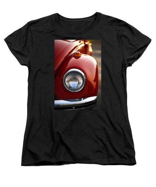 Women's T-Shirt (Standard Cut) featuring the photograph 1973 Volkswagen Beetle by Gordon Dean II