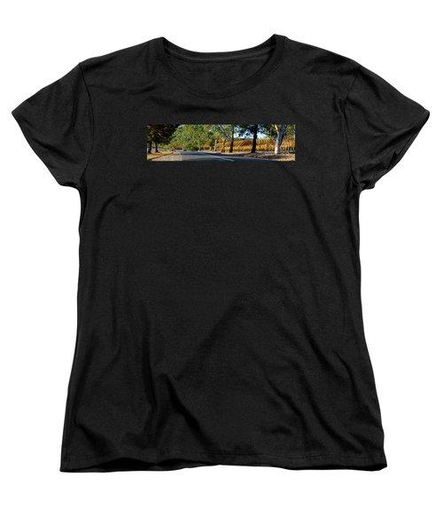 Women's T-Shirt (Standard Cut) featuring the photograph Autumn Vines by Bill Robinson