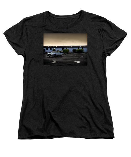 Blue Motel Women's T-Shirt (Standard Cut) by John Hansen