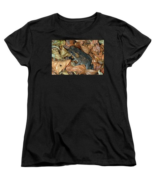 Women's T-Shirt (Standard Cut) featuring the photograph Cane Toad by Breck Bartholomew