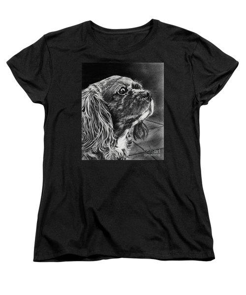 Cavalier II Women's T-Shirt (Standard Cut) by Terri Mills