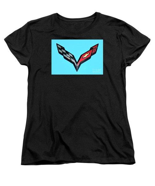 Chevy Emblem Women's T-Shirt (Standard Cut) by Pamela Walrath