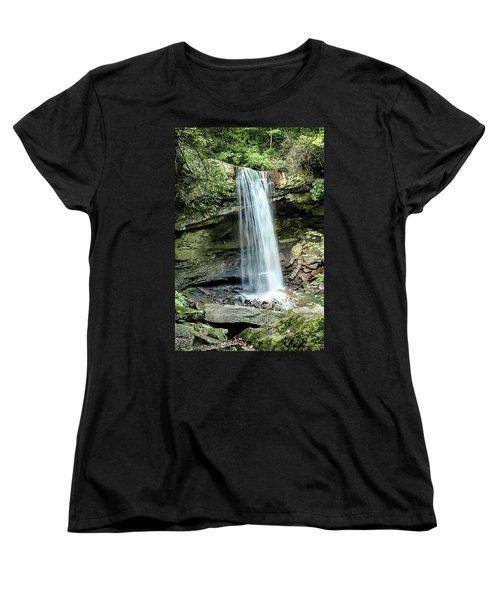 Cucumber Falls Pennsylvania Women's T-Shirt (Standard Cut) by Chris Smith