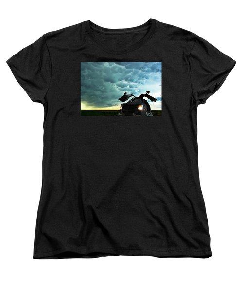 Dominating The Storm Women's T-Shirt (Standard Cut) by Ryan Crouse