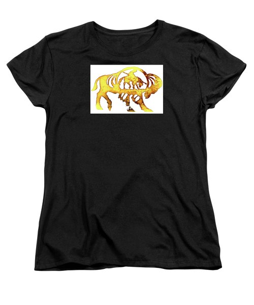 End Of The Trail Women's T-Shirt (Standard Cut) by Larry Campbell