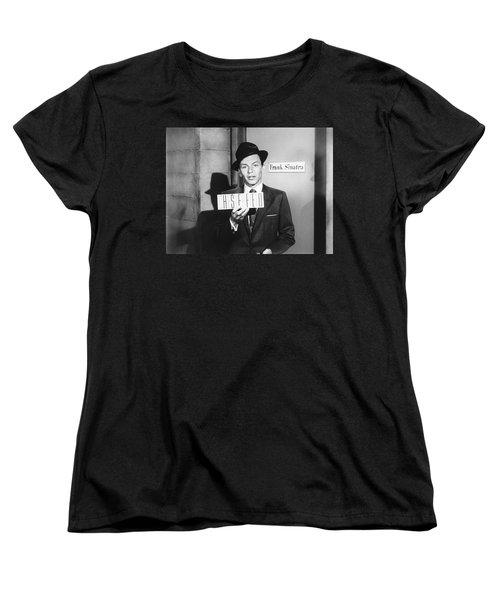 Frank Sinatra Women's T-Shirt (Standard Cut) by Underwood Archives