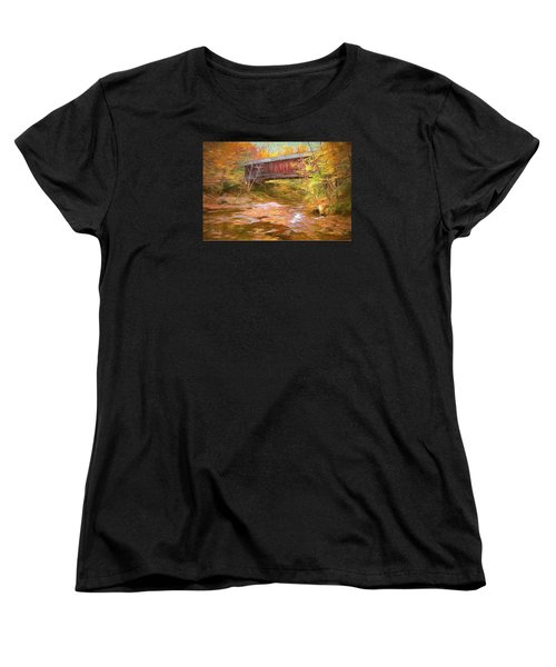 Hutchins Bridge Women's T-Shirt (Standard Cut) by John Selmer Sr