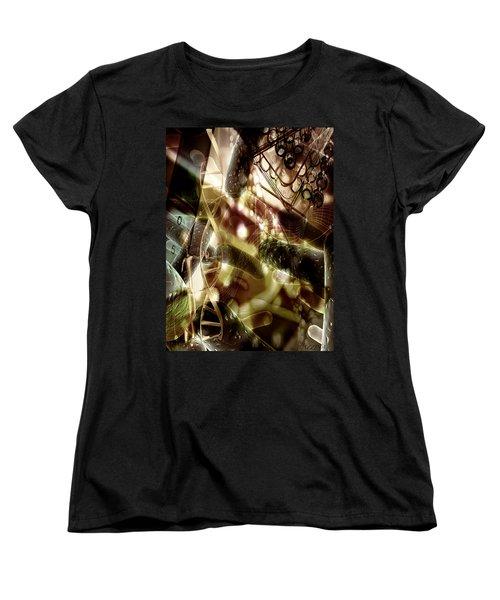 Women's T-Shirt (Standard Cut) featuring the digital art Medils Art by Danica Radman