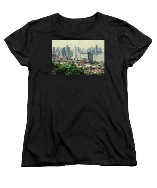 Panama City Women's T-Shirt (Standard Cut) by Iris Greenwell