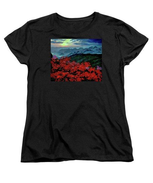 Paradise Women's T-Shirt (Standard Cut) by Stan Hamilton