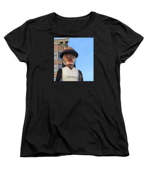 Salish Woman Women's T-Shirt (Standard Cut) by Martin Cline