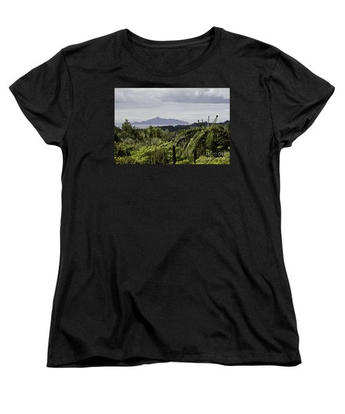 Women's T-Shirt (Standard Cut) featuring the photograph Somewhere Around Whangarei, New Zealand by Yurix Sardinelly