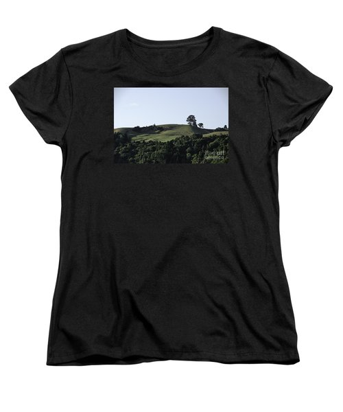 Women's T-Shirt (Standard Cut) featuring the photograph Somewhere In New Zealand by Yurix Sardinelly