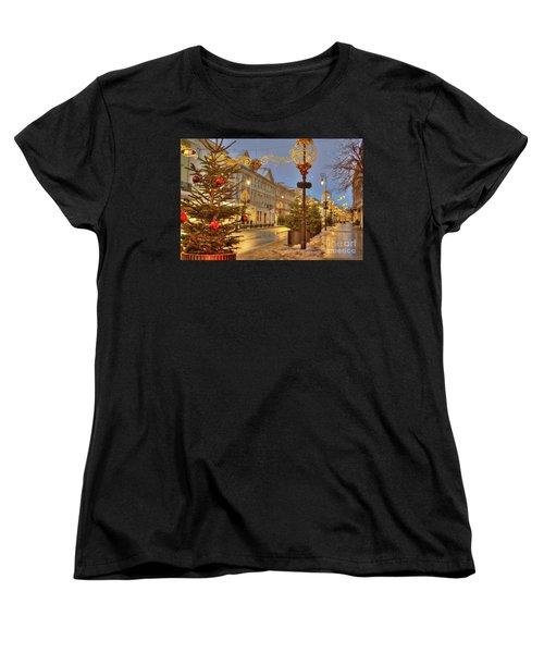 Women's T-Shirt (Standard Cut) featuring the photograph Warsaw, Poland by Juli Scalzi