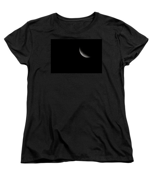 2015 Harvest Moon Eclipse 1 Women's T-Shirt (Standard Cut) by Terry DeLuco
